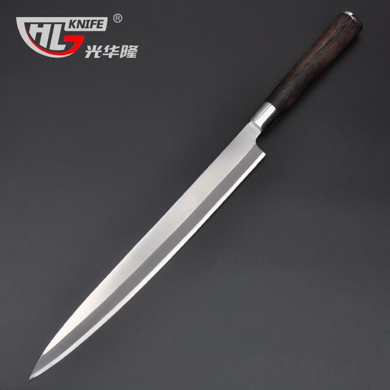 300mm Stainless Steel Japanese Kitchen font b Knife b font Sushi font b Knife b font