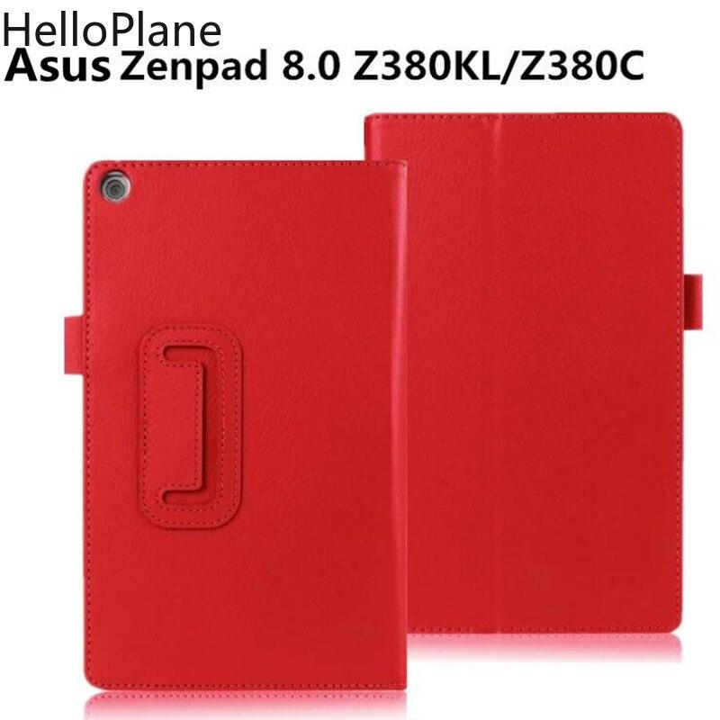 Для Asus ZenPad 8 8,0 дюймов Z380 Z380C Z380M Z380KL чехол для планшета модный откидной держатель кожаный чехол