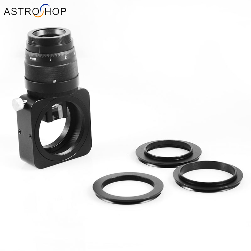 Off Axis Guider OAG improved medium long focal length and deep sky imaging black