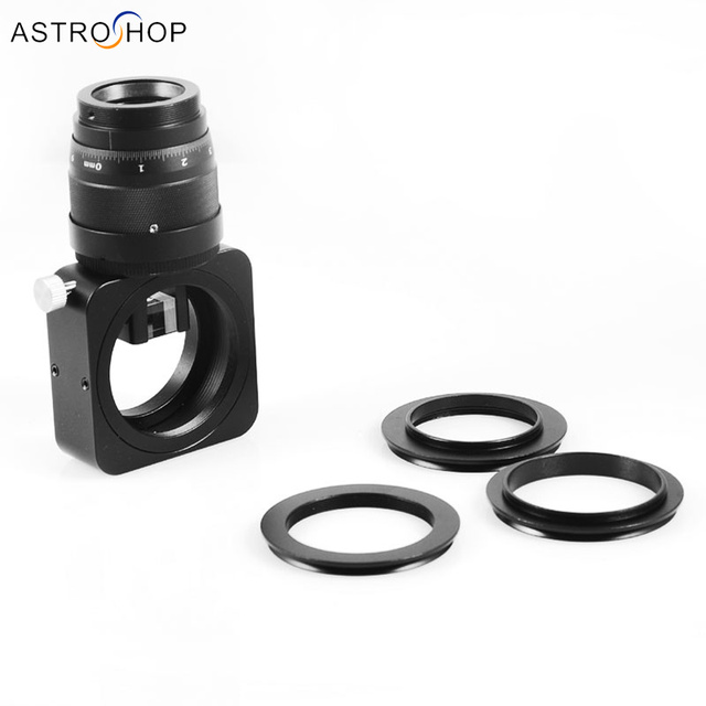 Off Axis Guider OAG  improved medium long focal length and  deep sky imaging (black)