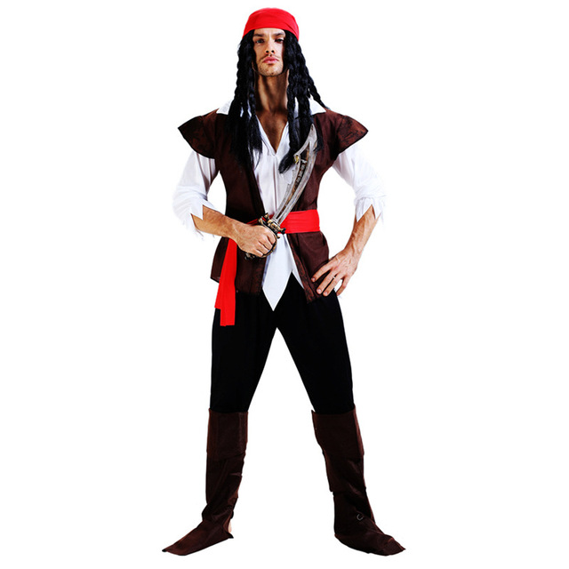 captain pirates of the caribbean jack sparrow pirate woman adult cosplay female men halloween costumes for