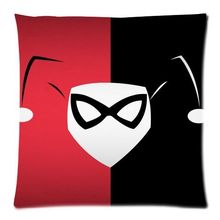 Funky Harley Quinn Pillow Case Cushion Cover Funny Custom Pillows Covers Car Seat Cushions
