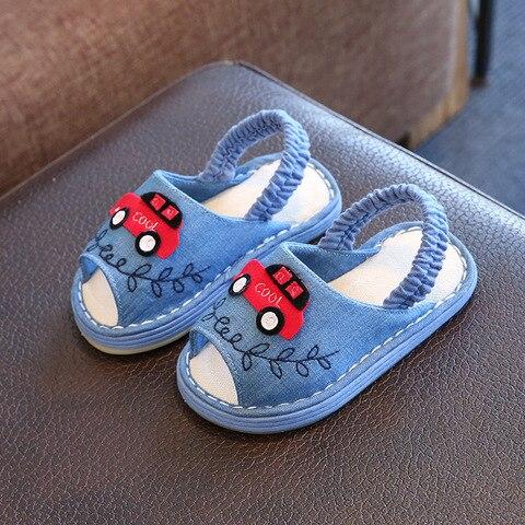 bebe menino e menina dos desenhos animados fresco chinelos em casa de algodao chinelos de