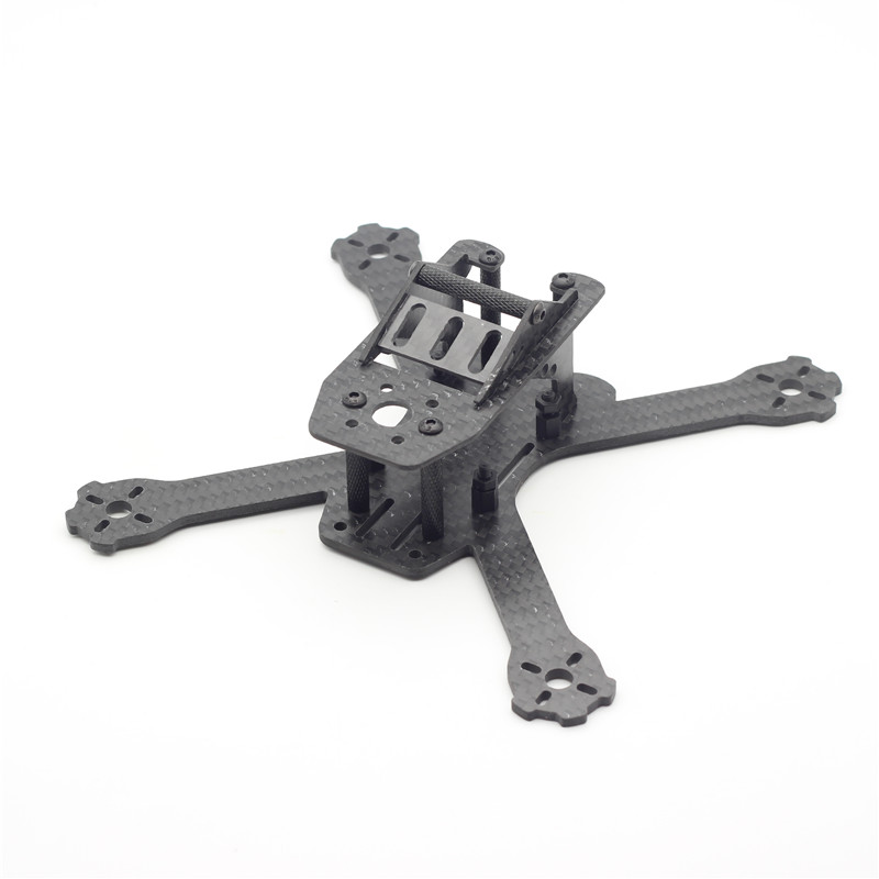 QAV130 150 RX150 DIY Mini RC Carbon Fiber Board 3MM Mini Quadcopter Frame Plate for Racing Quadcopter 1306 Motors Through FPV carbon fiber frame diy rc plane mini drone fpv 220mm quadcopter for qav r 220 f3 6dof flight controller rs2205 2300kv motor