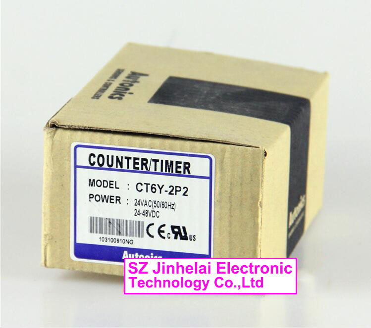 CT6Y-2P2 New and original AUTONICS Count relay 24VAC 24-48VDC Counter/timer