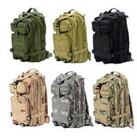 Camping Equipment Hiking Multi Sytle Solid Nylon Unisex Outdoor Oxford Military 3P Tactical Backpack Bag HT10 0001