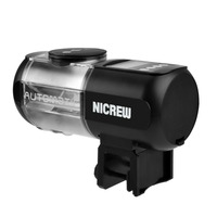 NICREW Electronic Automatic Fish Feeder Food Dispenser Timer Automatic Particular dampproof Multiple timing Flexible quantify