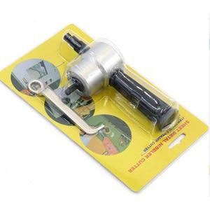 Image 4 - Grignoter découpage de métal Double tête, outil de coupe à la scie, grignoter la feuille de métal, outil de fixation de la perceuse, outil de coupe gratuit