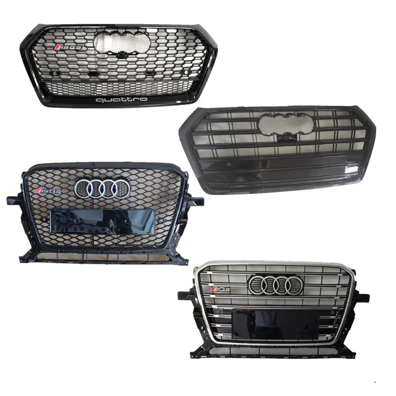 Front grille for Q5 to RSQ5 SQ5 2013 2015 2017 2018 2019Front grille for Q5 to RSQ5 SQ5 2013 2015 2017 2018 2019