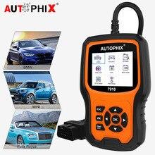 Autophix 7910 OBD2 сканер диагностическая Автоматическая полная система ABS/Подушка безопасности/SAS/EPB Сброс для BMW/Mini/Rolls Royce Автомобильный сканер