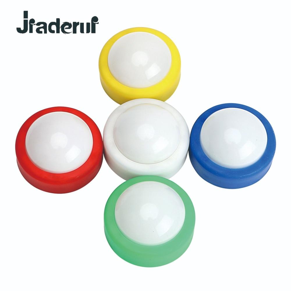 Jiaderui LED Night Light Touch Lamp Decoration Push Tap Stick Activity Cabinet Closet Party Wedding KTV Holiday Lighting Lamp