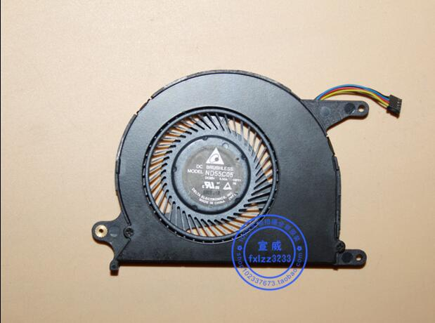 Delta Electronics ND55C05 -15F01 Server Cooling Fan DC 5V 0.50A 4-wire
