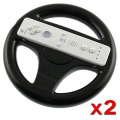 2PCS Mari Kart Racing Wheel for Nintendo Wii