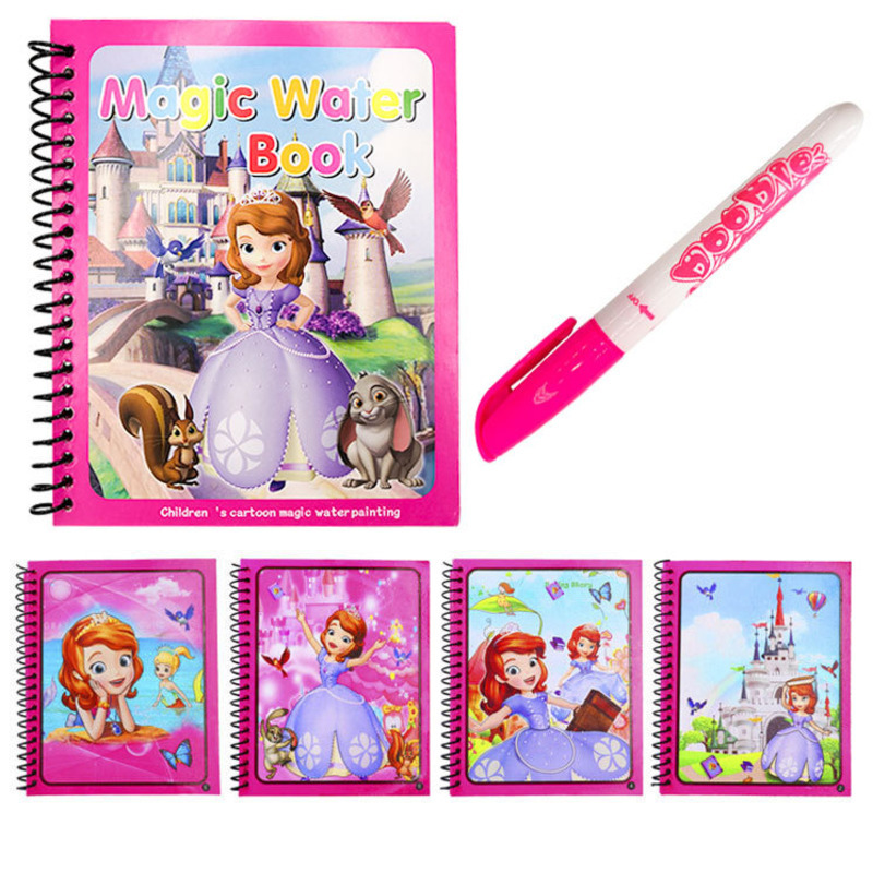 Painting Drawing Board For Kids Toys Coloring Book Doodle & Magic Pen Magic Water Drawing Book Birthday Gift