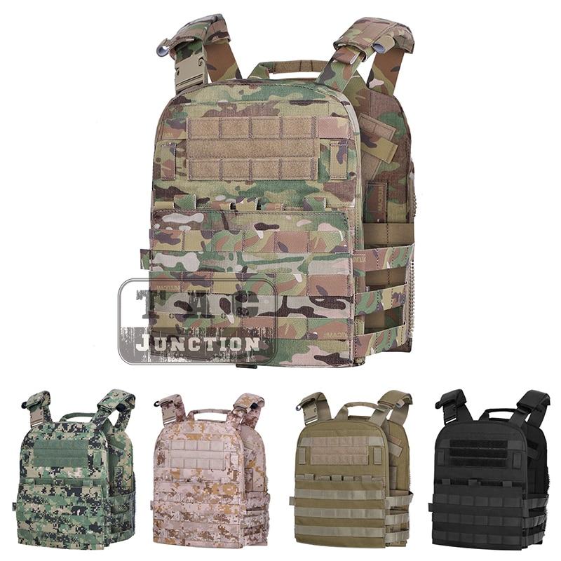 Emerson Tactical Adaptive Vest AVS Plate Carrier MOLLE Lightweight 3 Band Skeletal Cummerbund