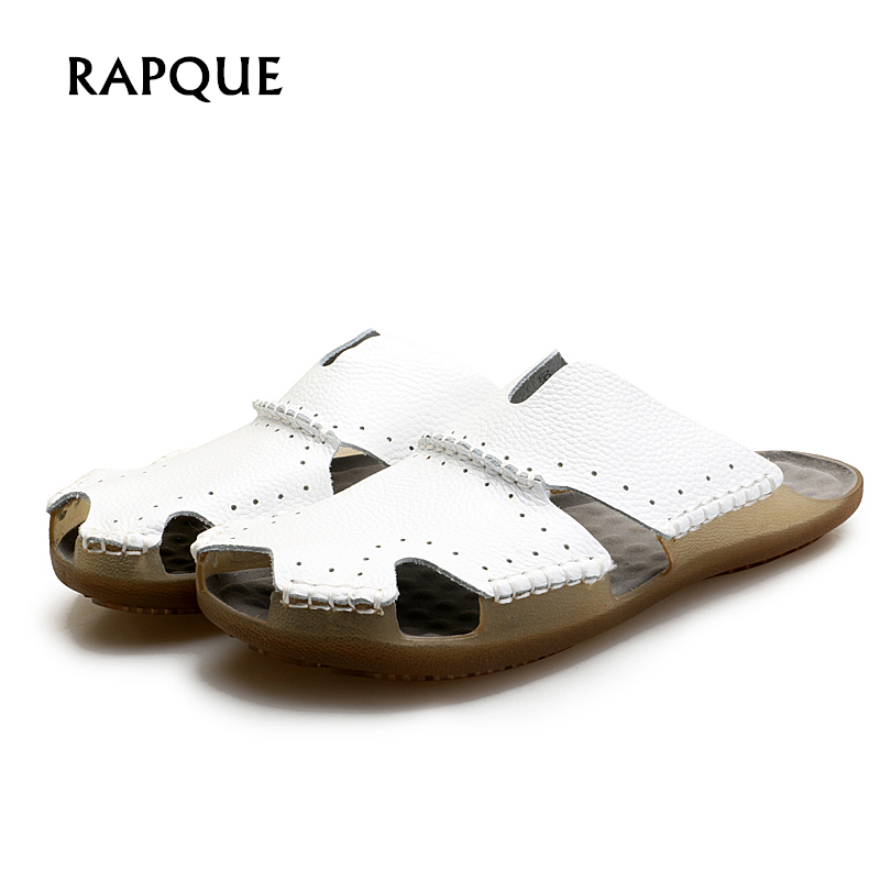 Fashion slippers men Designer terlik pantuflas mens shoes Male white slipper crocs shoes ...