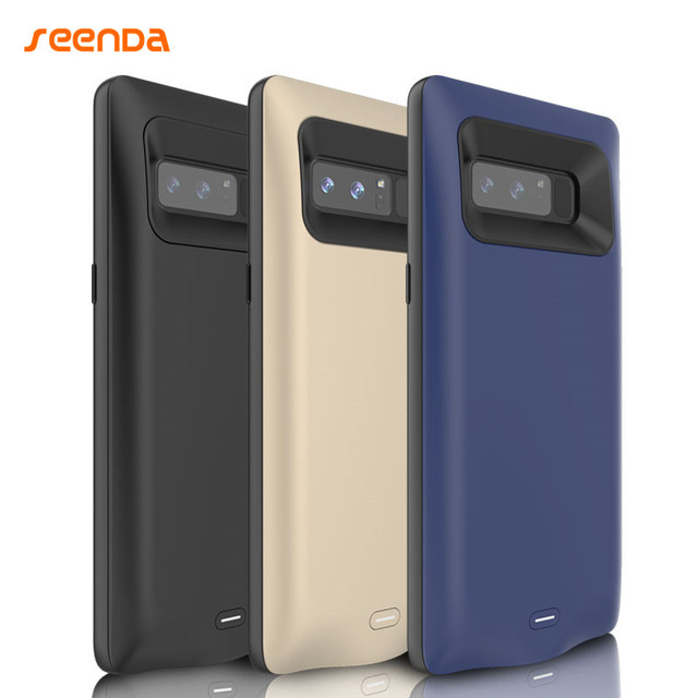 2017 For Samsung Note 8 5500 mAh Battery Charger Case Power Bank Phone Bag Power Charger Case Cell Phone Case for Samsung Note 8