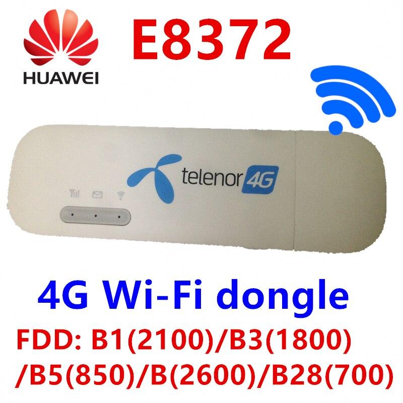 Débloqué Huawei E8372 changement de E8372h-608 IMEI 150 Mbps 4G WiFi Dongle LTE Modem USB universel firmware 21.180.07.00.00