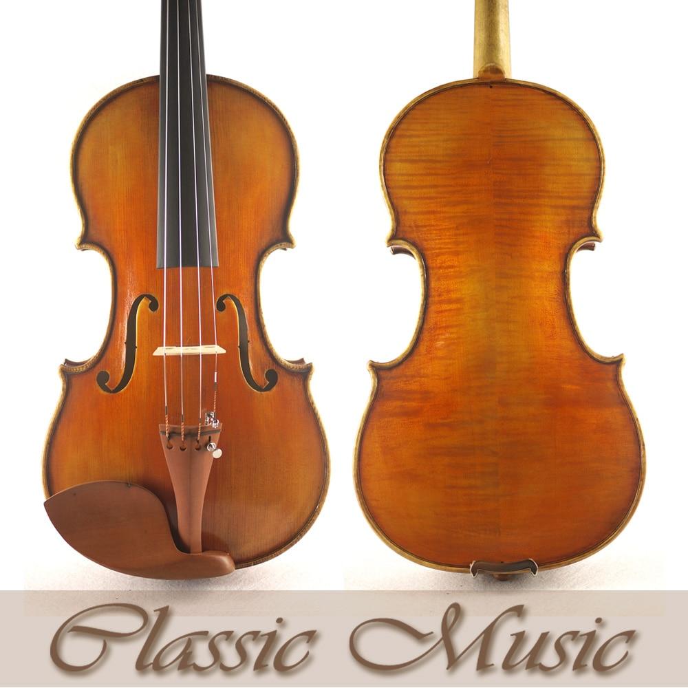 Nicolaus Amati 1670 Violin Copy. Top Handmade Oil Varnish,No.1399 Violin. Handmade antique violin, Great setup austrian spruce ch j b collion mezin copy french master violin no 1408 nice sound antique violin100% handmade