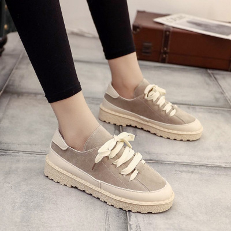 Autumn new trend wild casual shoes comfortable student shoes 3