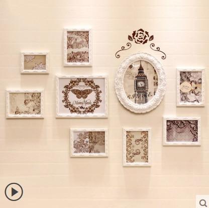 ▽Kingart gran madera Marcos pared decorativa del cuadro Marcos casa ...