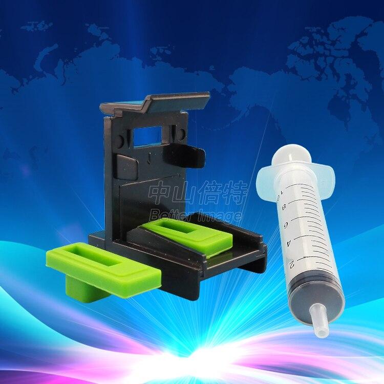 Strumento Cartuccia di inchiostro Morsetto Assorbimento Clip di Pompaggio per Canon PG545 CL546 per Canon PIXMA MG2450 MG2550 MG2950 iP2850 MX495 stampante