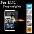 2.5d 9 h vidrio templado protector de pantalla para htc desire 510 516 610 616 626 820 816 Uno M7 M8 M9 E9 Caso de la Cubierta Protectora película
