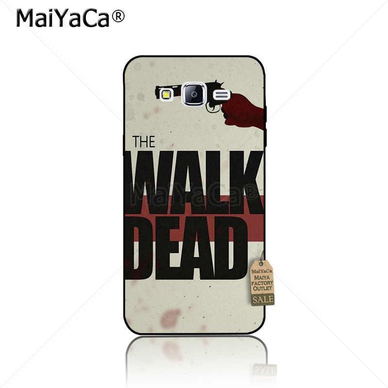 MaiYaCa the WALKING DEAD Thiết Kế điện thoại di động trường hợp đối với samsung galaxy s10plus lite j7 j4 j6 j2pro note9 8 trường hợp coque