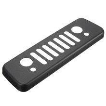 Сзади черный Алюминий решетка третий стоп ягненка крышка отделка Стикеры для Jeep/Wrangler JK 2007- 2016