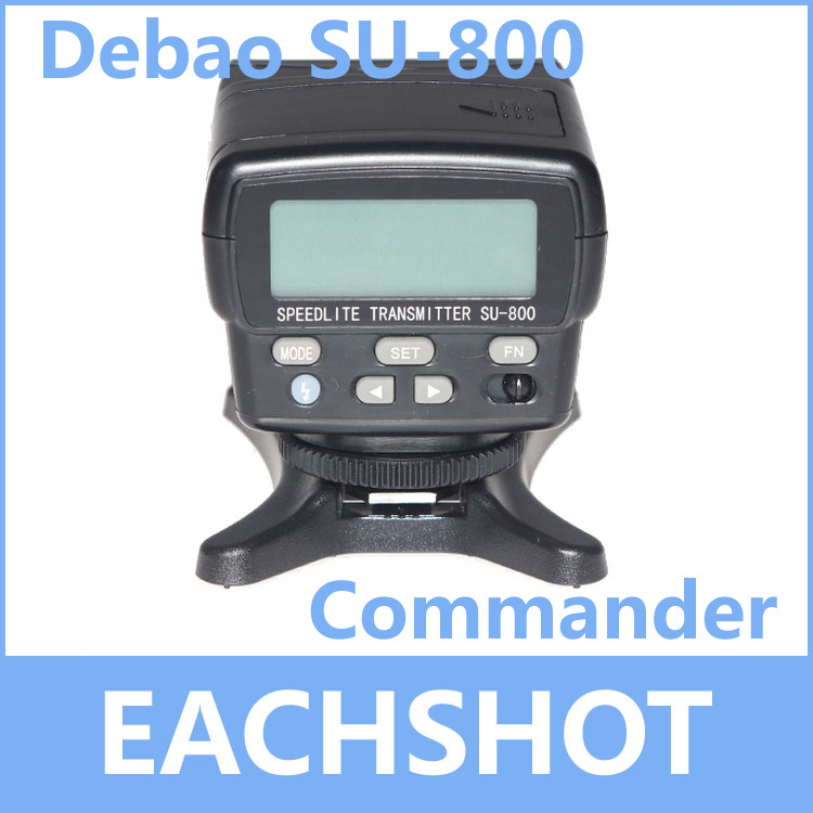 Debao SU-800 Wireless Speedlight Commander for D7100,D7000,D5200,D5100,D5000,D3200,D3100,D3000,D50,D60,D70,D80,D90,D800 d