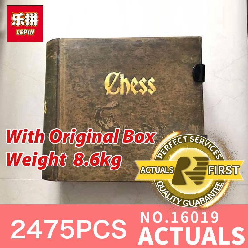 Lepin 16019 2475 pièces LegoINGlys la série de films château ensemble 852293 grands blocs de construction d'échecs briques jouets pour cadeaux de noël