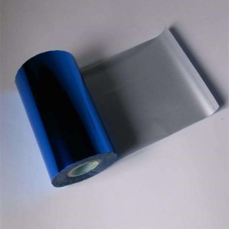 Hot stamping foil hot press on paper or plastic deep blue color 16cm x 120m can cut