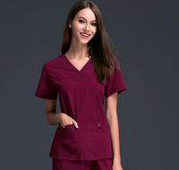 New Design Women S Medical Scrub Uniform Set Dental Hospital And Beauty Salon Working Clothes Slim