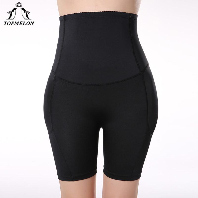 TOPMELON Shapwear High Waist Trainer Leg Body Shaper Butt Lifter Underwear Women Padded Panties Hip Booty Enhancer Control Pants