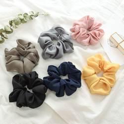 Эластичная Повязка На Голову Корея Мода массивная резинка для волос аксессуары для волос для женщин/девушка волосы спортивные Scrunchie