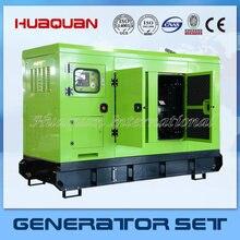 Заводская распродажа бесшумный дизельный geenrator 380v ricardo 20kva дизельный генератор