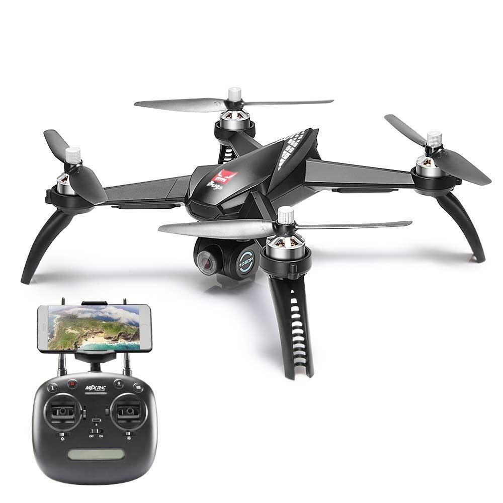 MJX bichos 5 W B5W RC Drone RTF 5G WiFi FPV 1080P cámara con GPS Me sigue modo RC Quadcopter del MJX bichos 2 B2W helicópteros D30-in Helicópteros RC from Juguetes y pasatiempos    1