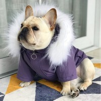 Pets Products Dogs Supplies Winter French Bulldog And Pugs Puppies Clothes Warm Coats
