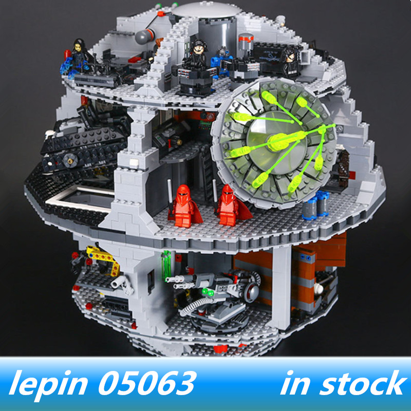 Lepin 05063 lepin Star Wars Death Star Compatible with legoing star wars Death Star 75159 Building Block Bricks Toys dhl lepin 05063 4016pcs star plan series wars death star building block bricks toys kits compatible legoing 75159 christmas gift