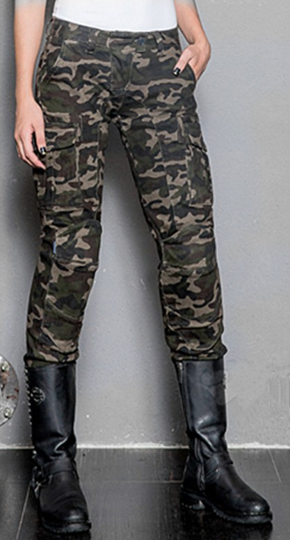 Ladies leisure camouflage outdoor tactical pants uglybros motorpool jeans motorcycle protection knee pants machine pants size
