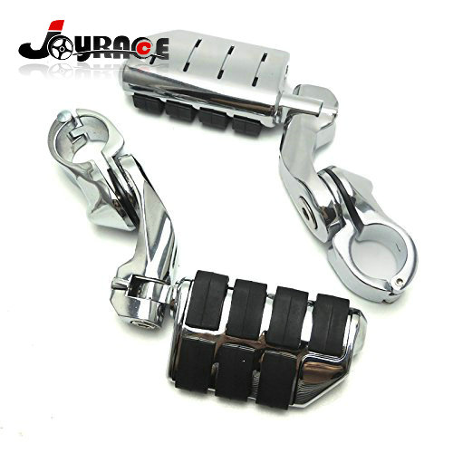 Adjustable Motorcycles Highway Footpeg Foot Pegs Rest for Electra Road King Street Glide