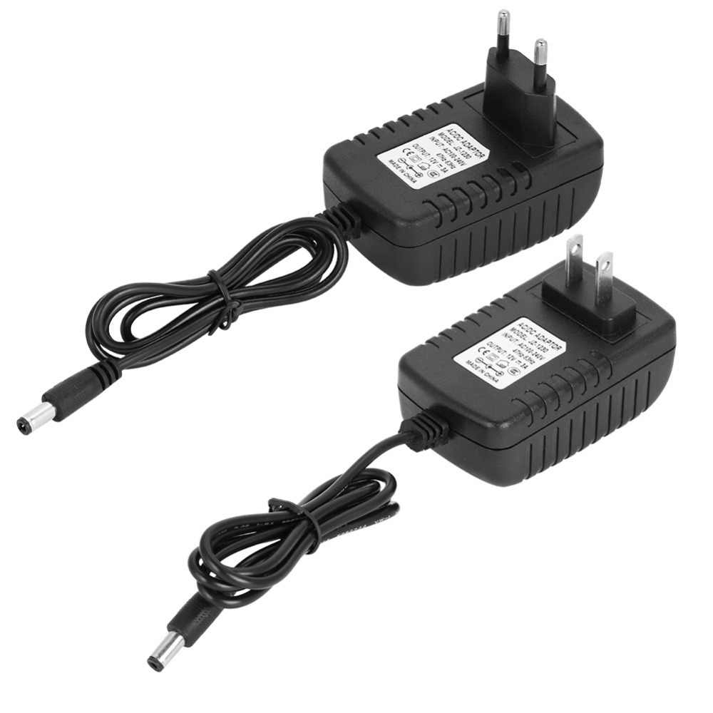 12 Volt 3A Power Adapter Voeding AC naar DC Intelligente Batterij Charger Power Adapter 100-240 v Supply Muur plug Extra Lange Koord