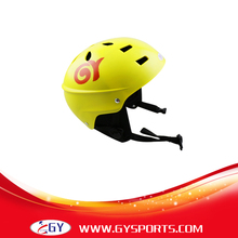 2016 CE Certificate yellow Water Sports Helmet ABS Outer Shell With Removable Ear Pads Freeshipping