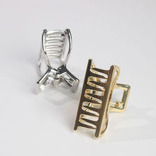 Geometric Hair Claw Clamps Moon Shape