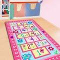 Модный Детский ковер Hopscotch  милый розовый ковер  дизайнерские детские коврики