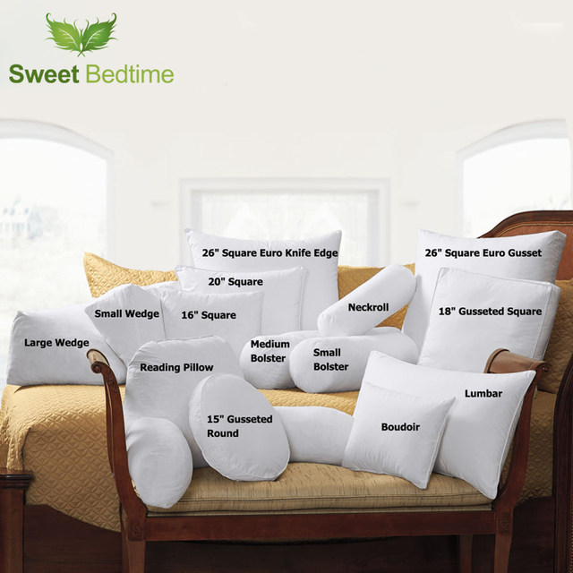 Online Shop 40 Feather 40 Down Specialty Pillows Inserts Yoga Stunning Small Pillow Inserts