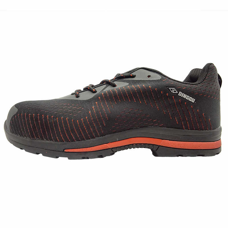Büyük boy erkekler rahat konfor örgü çelik burun iş güvenliği yaz ayakkabı delinme geçirmez takım güvenlik botları korumak ayakkabı