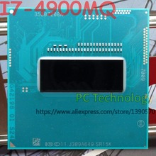 Original Intel Core I7 4900MQ SR15K CPU I7 4900MQ โปรเซสเซอร์ FCPGA946 2.80 GHz 3.80 GHz 8M Quad core ฟรีการจัดส่ง