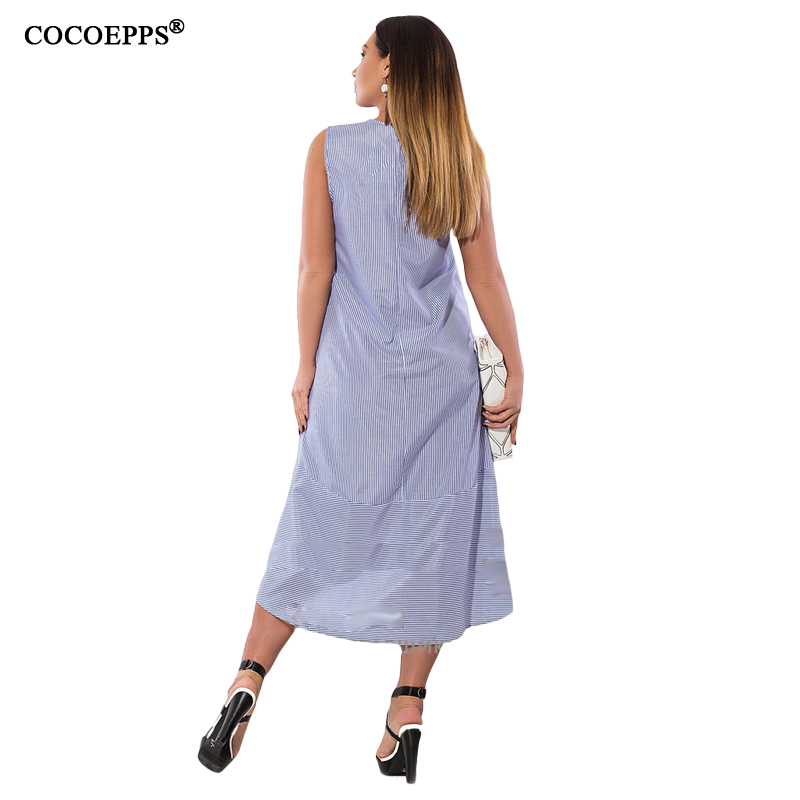 CACNCUT Summer Fashion Straped Dresses Women Big Size clothes 2018 Elegant Casual Plus Size Long party Dress Vestidos 5xl 6xl