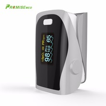 PRCMISEMED Household Health Monitors Pulse Oximeters Finger Oxygen Fingertip Pulse Oximeter SPO2 Finger Oximetro CE -Grey
